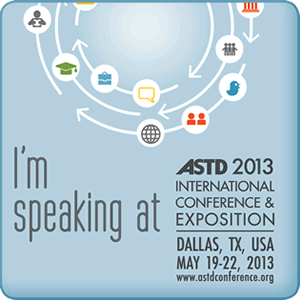 10/10ths Development's Terry Coates speaks at the 2013 ASTD-ICE